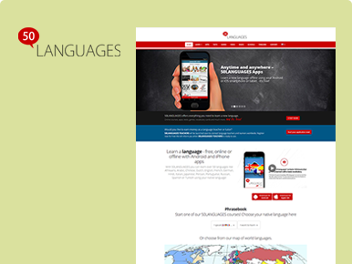 50languages- Developed Software Application