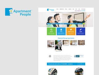 Web Application on Apartment People