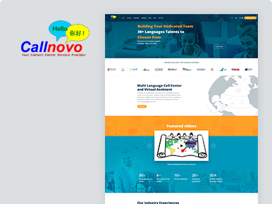 Callnovo- Wordpress Development Services