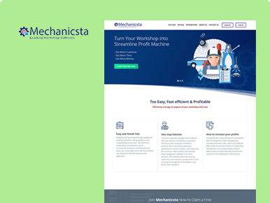 Mechanicsta- Custom Software Development Services