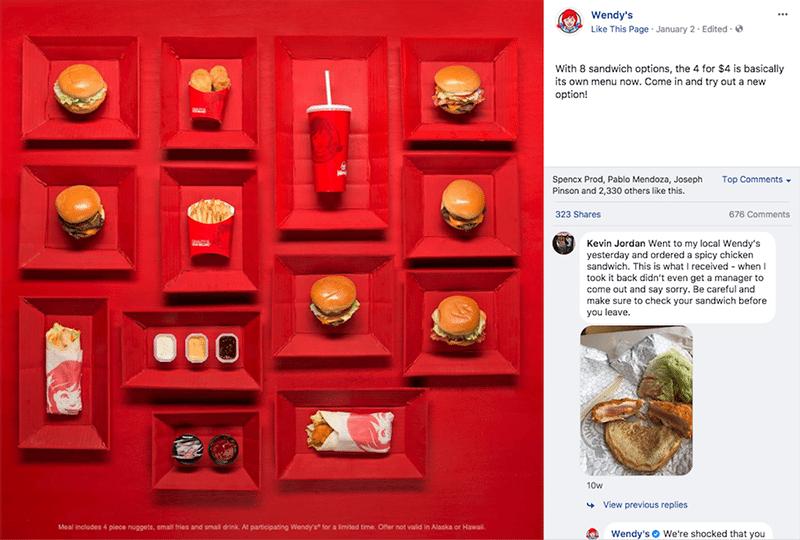 Social Media Presence for Restaurant App